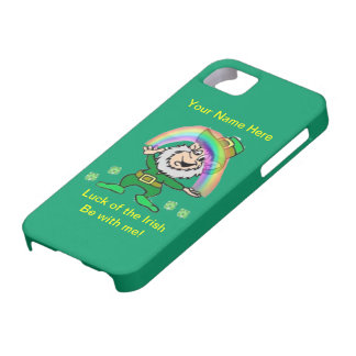 Luck of the Irish be with me Iphone 5 Case