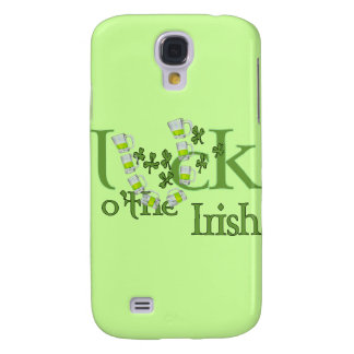 Luck of the Irish Beer Horse Shoe Luck Design Samsung Galaxy S4 Covers