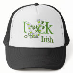 Luck of the Irish Beer Horse Shoe Luck Design Trucker Hat