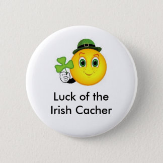 Luck of the Irish Cacher Geocaching Swag Pin