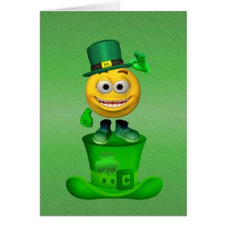 Luck of the Irish Card