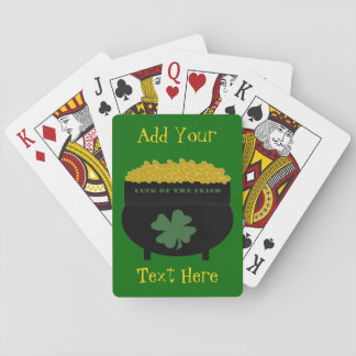 """""""Luck of the Irish"""" Classic Playing Cards"""