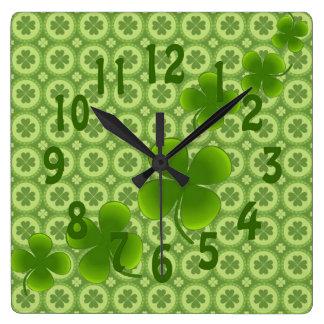 Luck of the Irish clock
