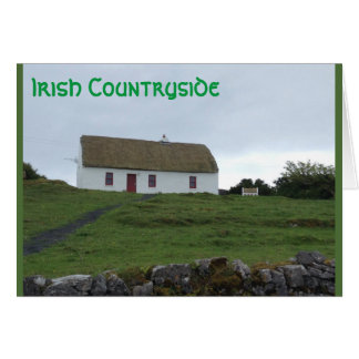 Luck of the Irish Countryside In Ireland Card