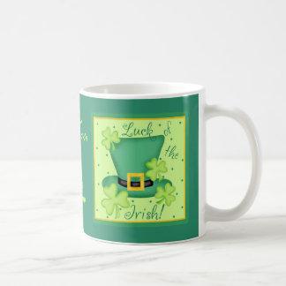 Luck of the Irish Custom Business Promotion Coffee Mug