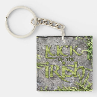 Luck of the Irish Green St Patrick's Day Key Chain