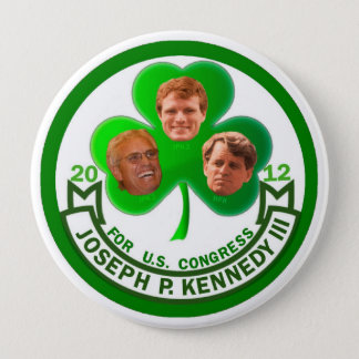 Luck of the Irish: Joe Kennedy 3rd for Congress Button