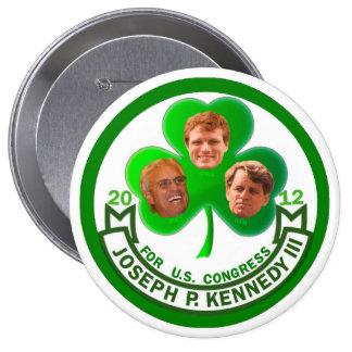 Luck of the Irish: Joe Kennedy 3rd for Congress Button
