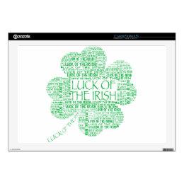 LUCK OF THE IRISH LAPTOP SKINS