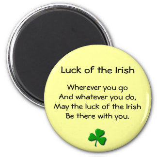 Luck of the Irish Magnet