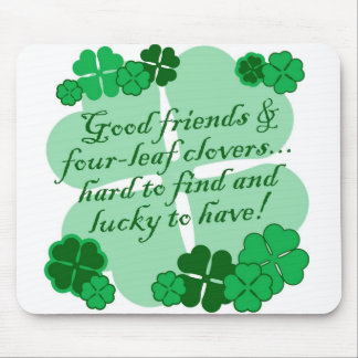 Luck of the Irish! Mouse Pad