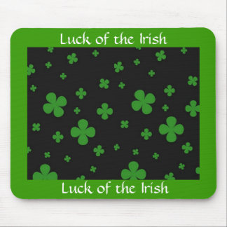luck of the irish mousepad