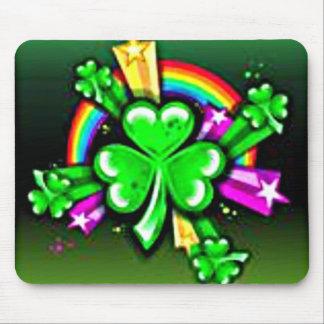 Luck of the Irish Mousepads