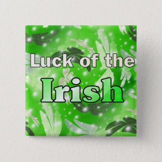 Luck of the Irish Pinback Button