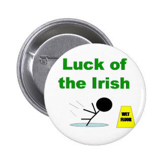 Luck of the Irish.png 2 Inch Round Button