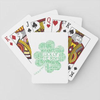 Luck of the Irish Poker Cards