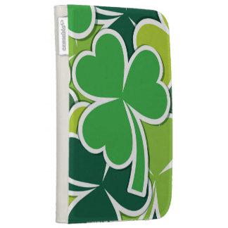 Luck of the Irish Shamrock Design Kindle 3G Covers
