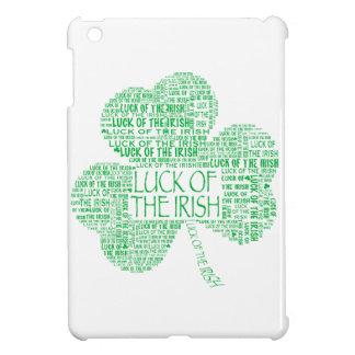 Luck of the Irish Shamrock iPad Mini Case