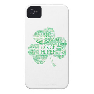 Luck of the Irish Shamrock iPhone 4 Cover