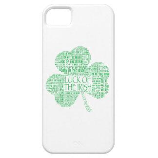 Luck of the Irish Shamrock iPhone SE/5/5s Case