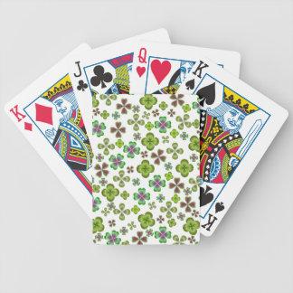 Luck of the Irish Shamrock Playing Cards