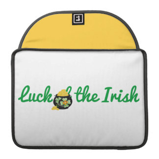 Luck of the Irish Sleeve For MacBook Pro