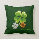 Luck of the Irish. St.Patrick's Day Gift Pillow