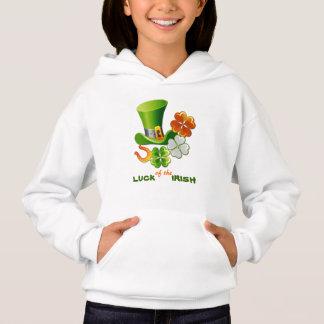 Luck of the Irish. St. Patrick's Day Hoodie