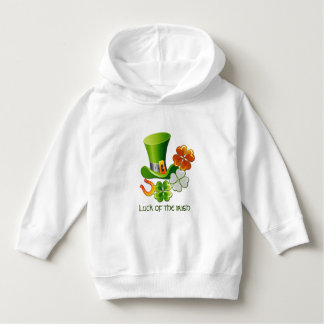 Luck of the Irish. St. Patrick's Day Infant Hoodie