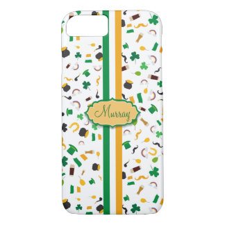 Luck of the Irish- St. Patrick's day irish items iPhone 8/7 Case