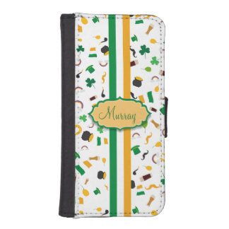 Luck of the Irish- St. Patrick's day irish items iPhone SE/5/5s Wallet