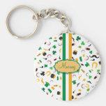 Luck of the Irish- St. Patrick's day irish items Keychain