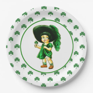 Luck of the Irish. St.Patrick's Day Paper Plates