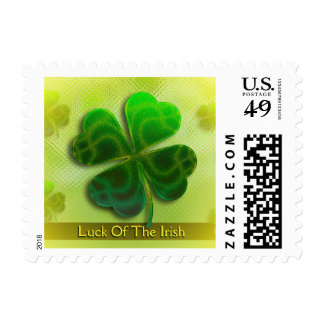 Luck Of The Irish | St. Patricks Day Postage Stamp
