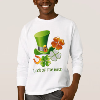 Luck of the Irish. St. Patrick's Day T-Shirts