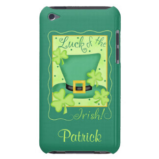 Luck of the Irish St. Patrick's Name Personalized Case-Mate iPod Touch Case