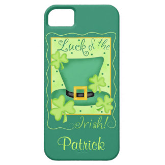 Luck of the Irish St. Patrick's Name Personalized iPhone 5 Case