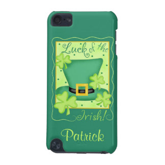 Luck of the Irish St. Patrick's Name Personalized iPod Touch 5G Cover