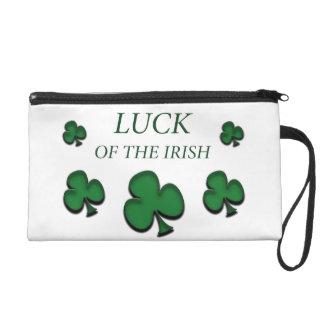 Luck Of The Irish Wristlet