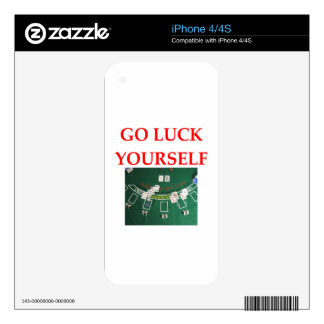 luck skin for iPhone 4