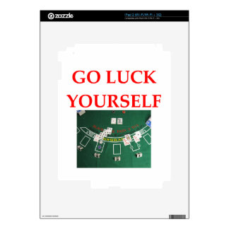 luck skin for the iPad 2