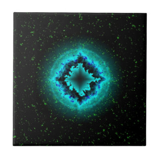 Luck Star and Asterisk Ceramic Tile