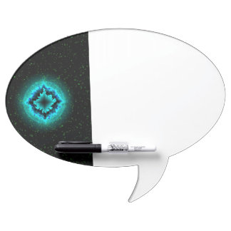 Luck Star and Asterisk Dry-Erase Whiteboard