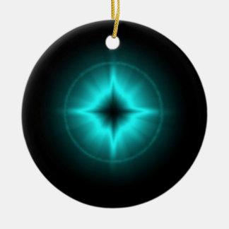 Luck stars mintgrün black kind Deco Ceramic Ornament
