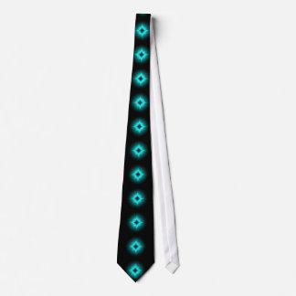 Luck stars mintgrün black kind Deco Tie