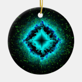 Luck stars with asterisk Glitter Ornament