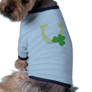 Luck Symbols Dog T-shirt