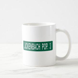 Luckenbach Pop 3 Classic White Coffee Mug