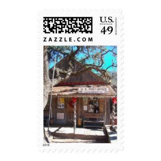 Luckenbach, Texas Postage Stamp