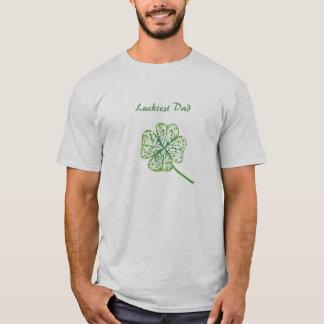 Luckiest Dad T-Shirt